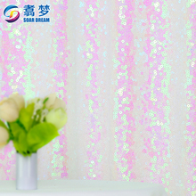 Portable party shining wedding drapery backdrop fabric backdrops for wedding events