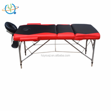 Super Stable Portable Aluminum 3 sections Body Choice Massage Table with Carry Bag