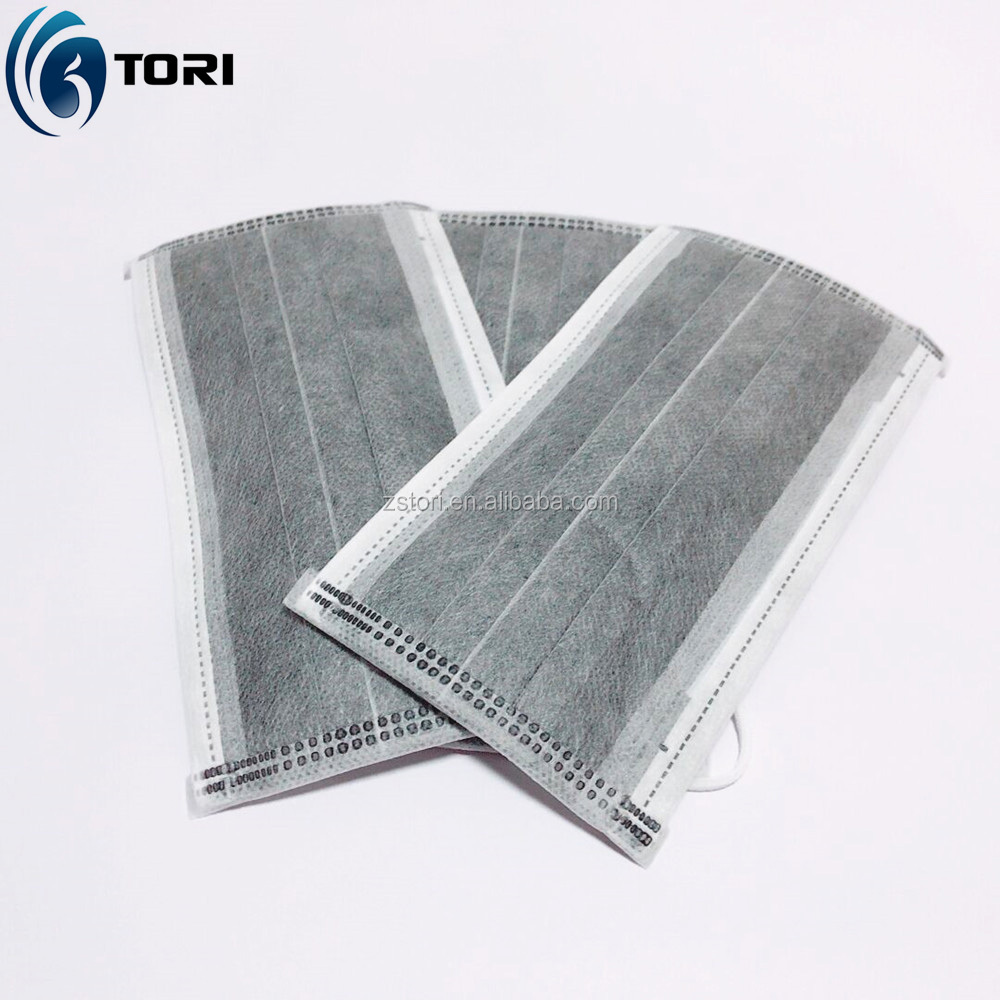 Hot sell 4 ply disposable active carbon filter doctor non woven face mask