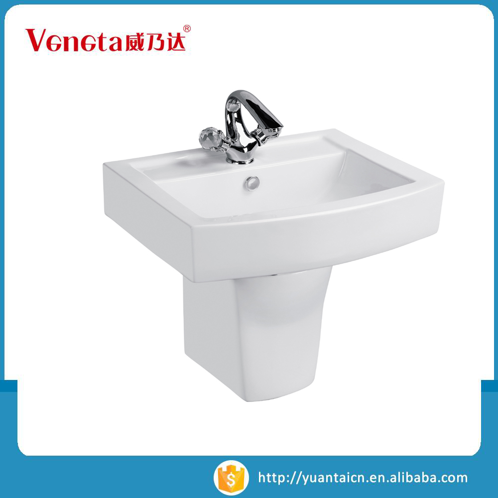 High quality OEM brands sanitary product cheap wash ceramic basin wall hung basin
