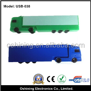 colorful truck shape usb flash drive usb flash disk(USB-038)