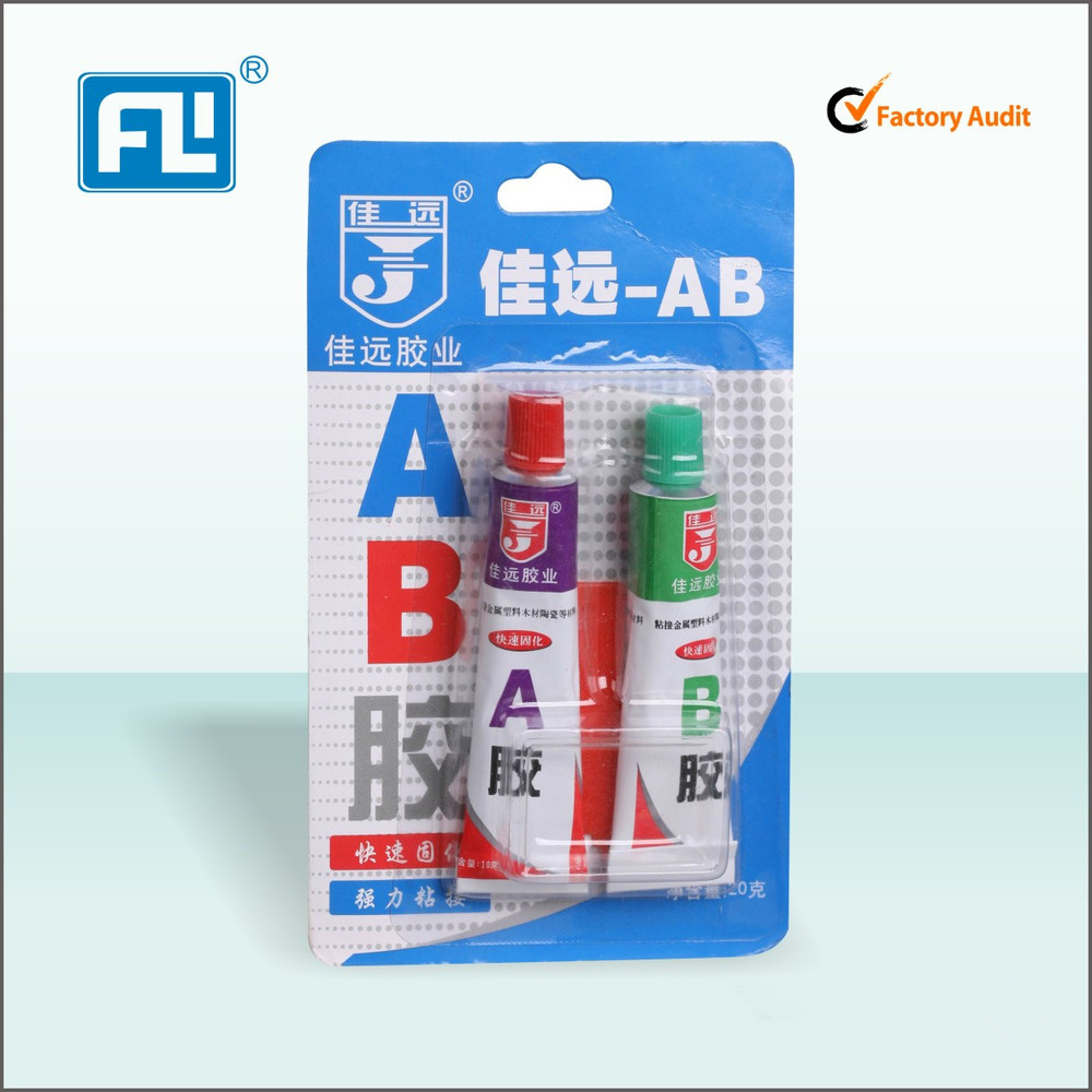 Non-Pollutive Rapid Waterproof Epoxy Ab Glue