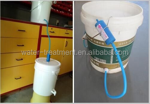 OEM transparent housing for home water purfiication ultra low pressure UF water filter