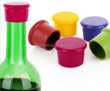 Candy color Silicone wine bottle stopper/Beer bottle stopper/Cooking wine stopper for Bar accessories and kitchenware
