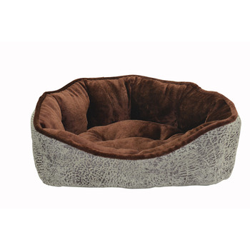 Durable Hot Warm Custom Luxury Washable Portable Cotton Felt Round Pattern Sofa Dog Bed Pet Bed Cushion/Mat Designs For Sale