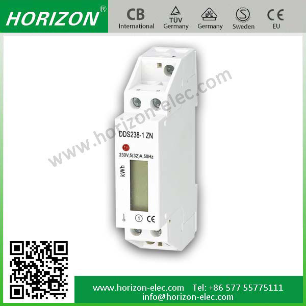 DDS238-1 ZN 1 module AC active small volume energy meter single-phase electronic electric meter DIN-Rail Mount RS485 Power Meter
