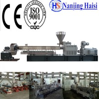PET Plastic Recycling Flakes To Granules Machine