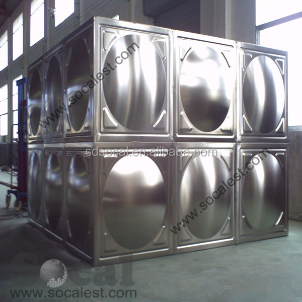 SMC Stainless Steel Small Water Storage Tanks for Sale