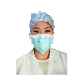 Medical protection face mask with earloop