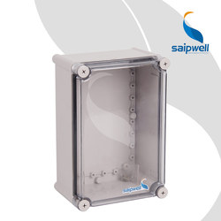 CE Approval Electronic Device Storage Box Outdoor 280*190*130mm Din Rail Terminal Enclosure