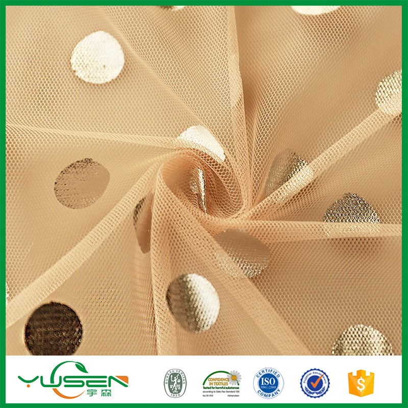 High quality light weight garment Mesh Tulle Fabric