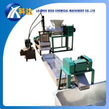 Double-stage plastic film granulator machine/ pp pe film recycling pelletizing extruder
