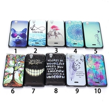 Cases For Wiko Birdy PC Shell Hard Back Protective Shell (Feather)