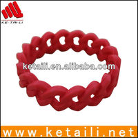 personalized silicone bracelets with top quality