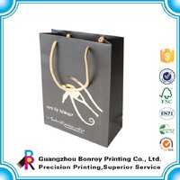 Chinese manufacturing company full color printing custom small bags gift