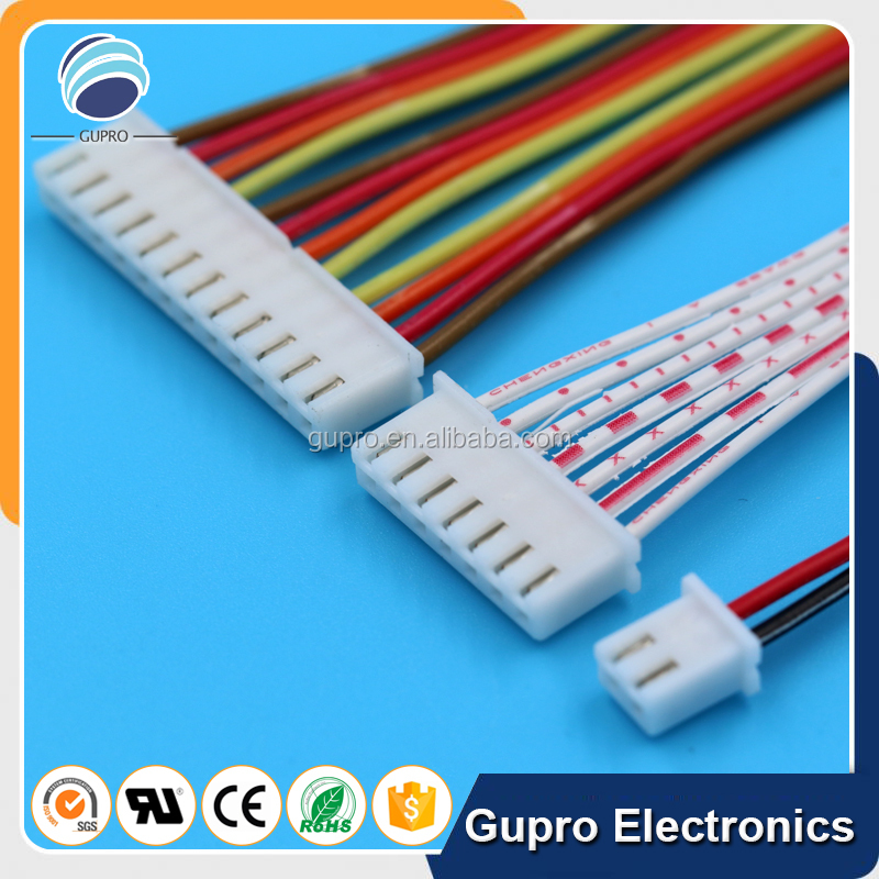 6 Pin Jst Connector 2.54mm Flat Ribbon Cable Wire Harness - Buy 6 ...