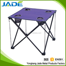 Outdoor home garden furniture new design folding small table for family