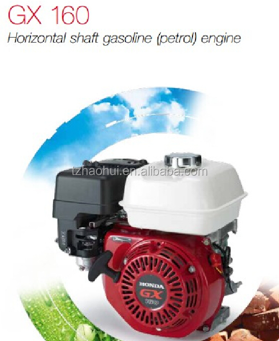 4 STROKE AIR-COOLER OHV HONDA TYPE 5.5HP 168F GASOLINE ENGINE GX160