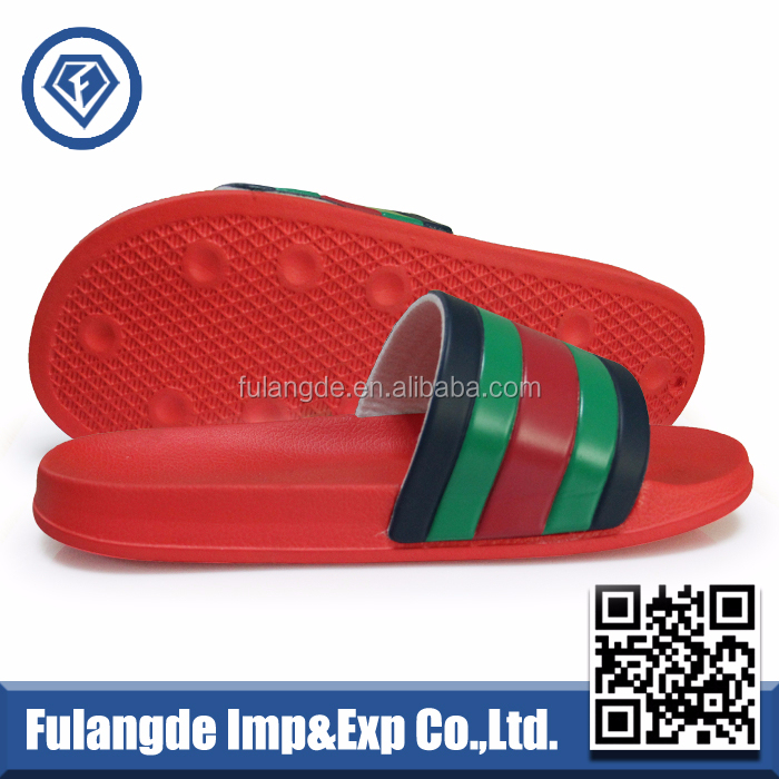 2016 OEM custom EVA slippers,stock wholesale men slipper,PU upper Slide Slippers