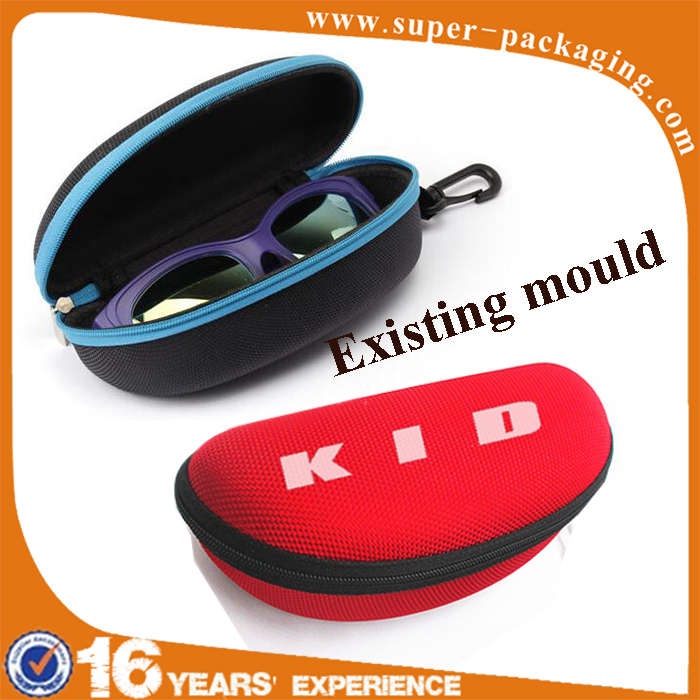 High quality waterproof EVA hard shell zipper personalized sun glasses case