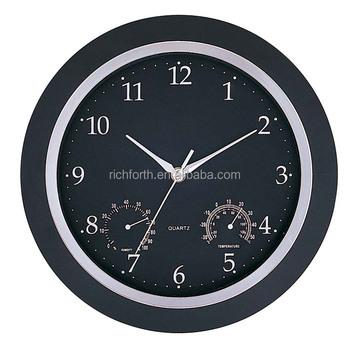 wall clock with temperature and humidity buy wall clock fashion wall