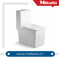 Soft close CUPC approved toilet Siphonic fully glazed round two piece toilet seat. sanitary