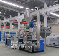 Best quality PVC pipe profile powder pulverizing pulverizer mill miller grinder recycling machine