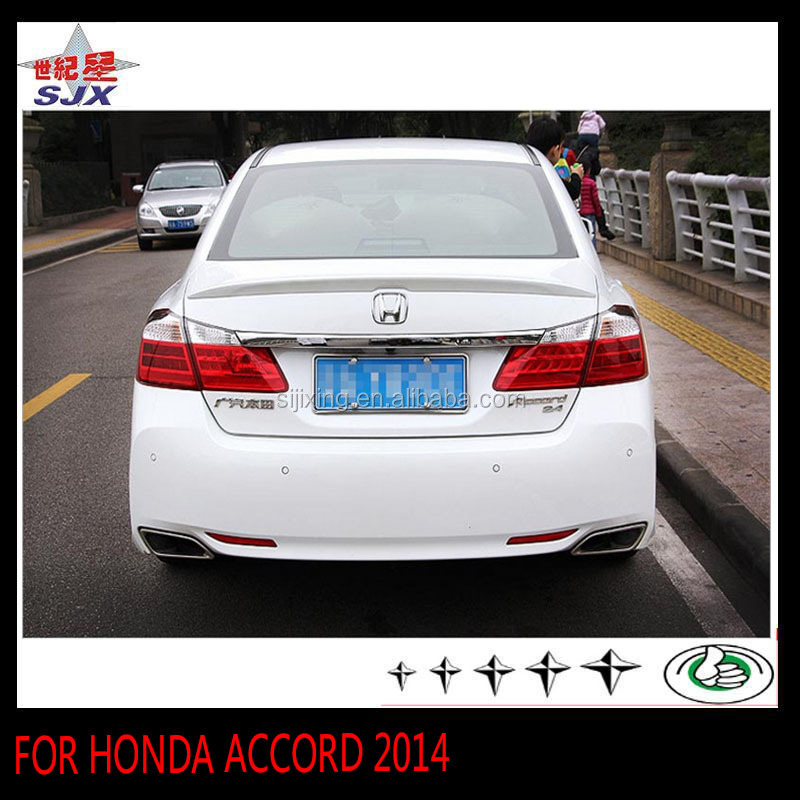 ABS CAR REAR LIP SPOILER FOR ACCORD 2014 THE REAR WING