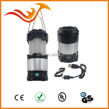 Cheapest camping light 3 mode 21LED waterproof rechargeable flashlight foldable camping led lantern