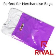 Alibaba Clear 50micron Plastic Shopping Bags For Packaging Clothes