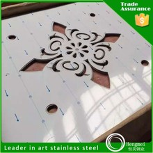 decorative stainless steel perforated metal sheet for metal building materials