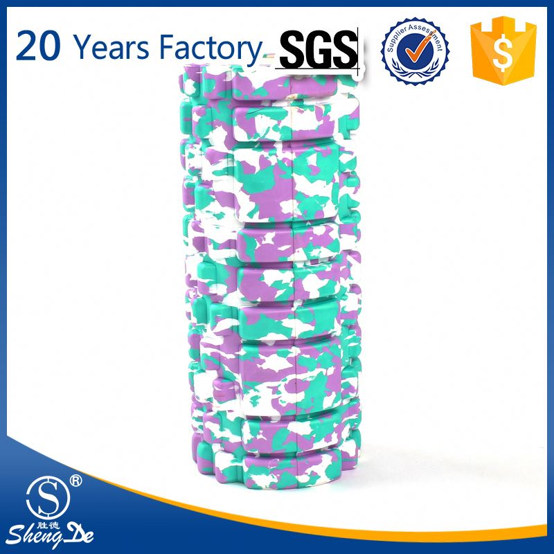 Textured High Density Exercise Sports Heated Foam Roller Factory