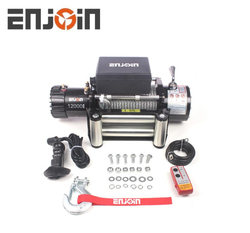 ENJOIN car winch off road auto winch 12000 electric recovery winch
