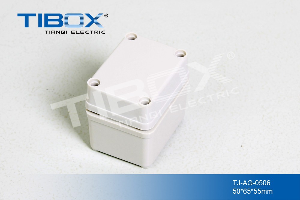 TIBOX IP66 Electrical Plastic Enclosures Waterproof ABS Switch Box