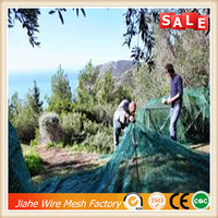 100%HDPE olive fruit vegetables collection net,olives collecting net
