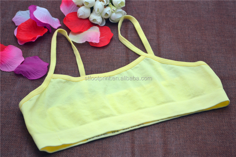 Young girl underwear seamless tank top bra top lingerie