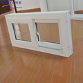 Modern house design pvc glass sliding window