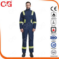 High visibility Nomex fire retardant clothing