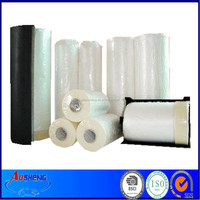 Plastic Pretaped Drop Sheet Roll Strip