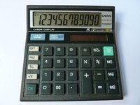 12 digits Citizen Check&Correct Calculator 512