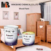 Color top coat lacquer paint for furniture