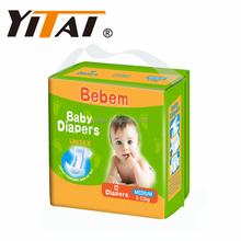 High quality Blue/Green/White adl baby diaper factory