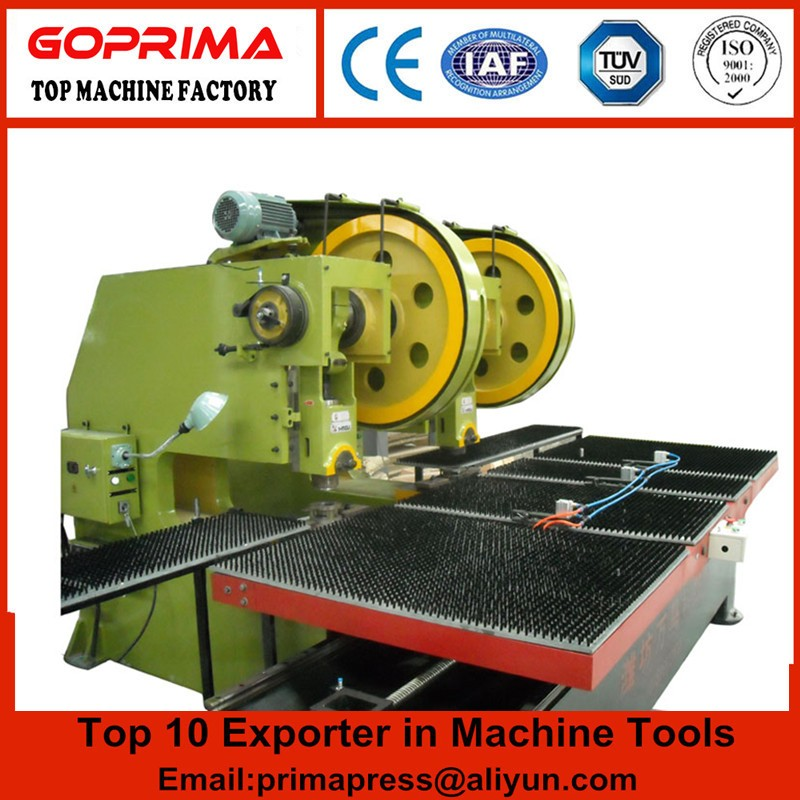 J23 stainless steel plate punch press machine,10t 3mm circle hole mechanical stamping machine