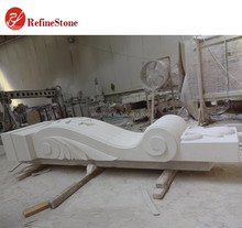 Latest handcarved white marble wall columns,High quality Roman natural stone statue and sculptured pillars