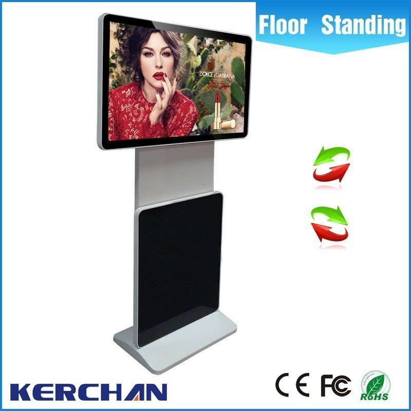 43 inch floor stand signage totem touch mupi mipi <strong>advertising</strong> with network system