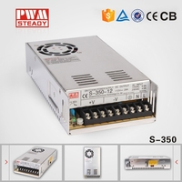 Steady CE approved meanwell style S-350-5 350w 5v 50a power supply