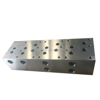 Professional High Pressure Resistance Hydraulic Valve Block