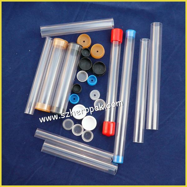 Wholesale custom ic tube rectangular pvc clear