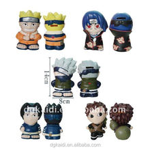 Wholesale promotional gift OEM 3D plastic mini action figure toys