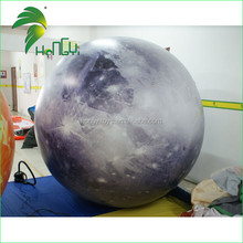 Newest Fashion Custom Inflatable Hot Popular Helium Balloon Planet Moon